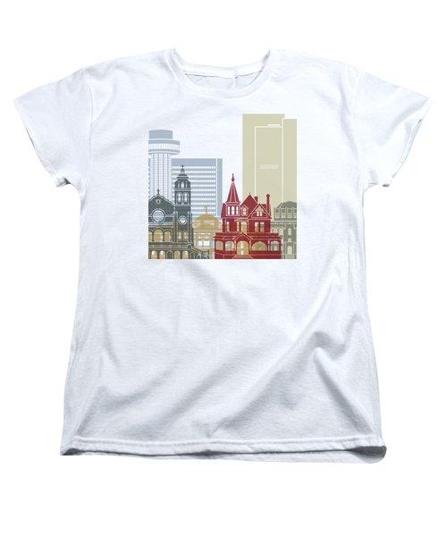 Phoenix Skyline Poster Women's T-Shirt (Standard Cut)