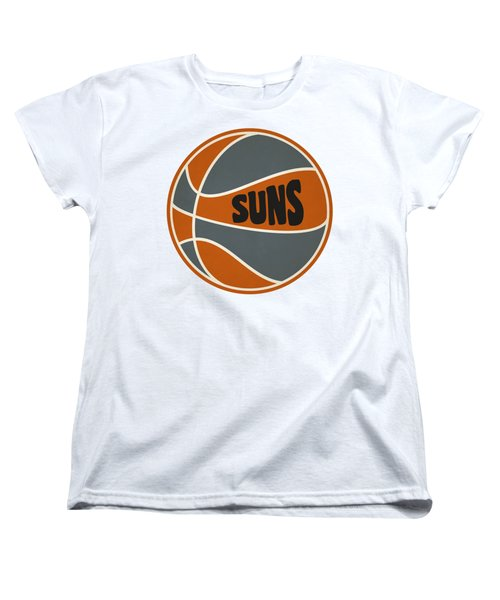 Women's T-Shirt (Standard Cut) featuring the photograph Phoenix Suns Retro Shirt by Joe Hamilton