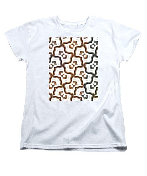 Piano Keys I Women's T-Shirt (Standard Cut) by Maria Watt