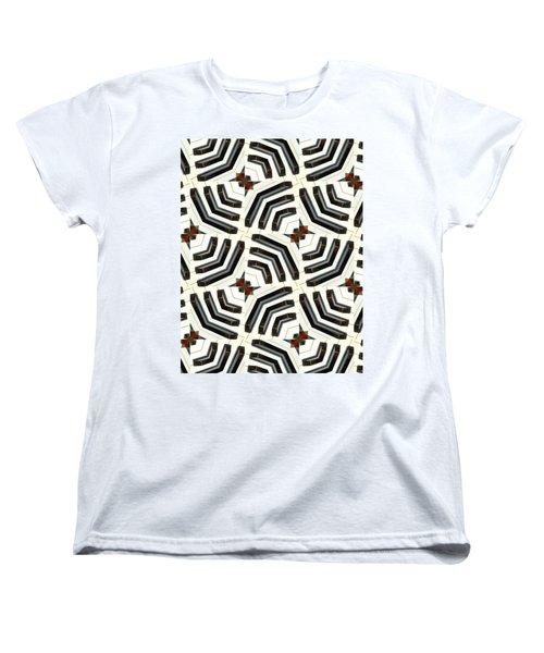 Piano Keys II Women's T-Shirt (Standard Cut) by Maria Watt