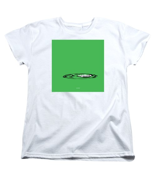 Women's T-Shirt (Standard Cut) featuring the digital art Piccolo In Green by Jazz DaBri