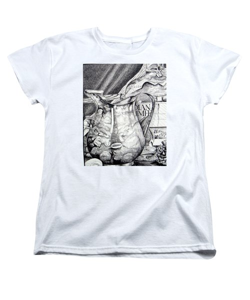 Picture Of Pitcher Women's T-Shirt (Standard Cut) by Linda Shackelford