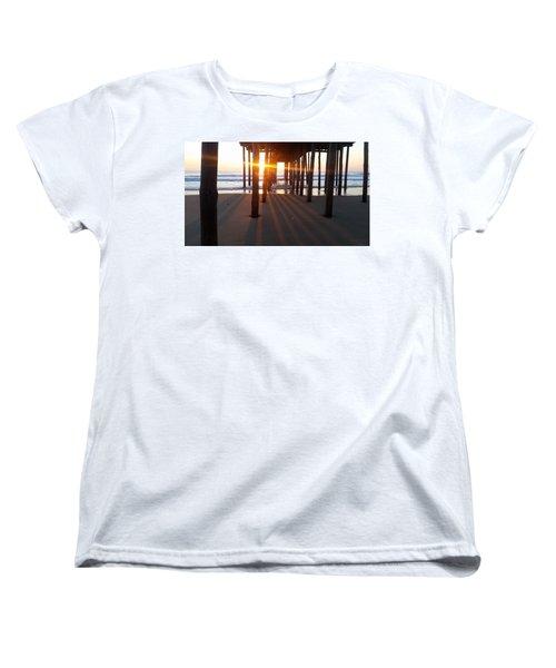Pier Shadows Women's T-Shirt (Standard Cut)
