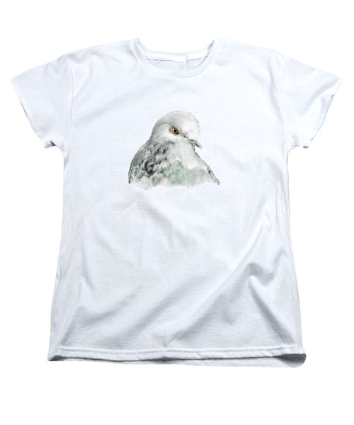 Pigeon Women's T-Shirt (Standard Cut) by Bamalam  Photography