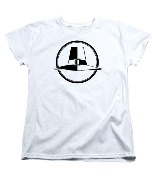 Pilgrim Hat - Tee Shirt Women's T-Shirt (Standard Cut) by rd Erickson