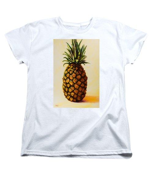 Pineapple Angel Women's T-Shirt (Standard Cut)