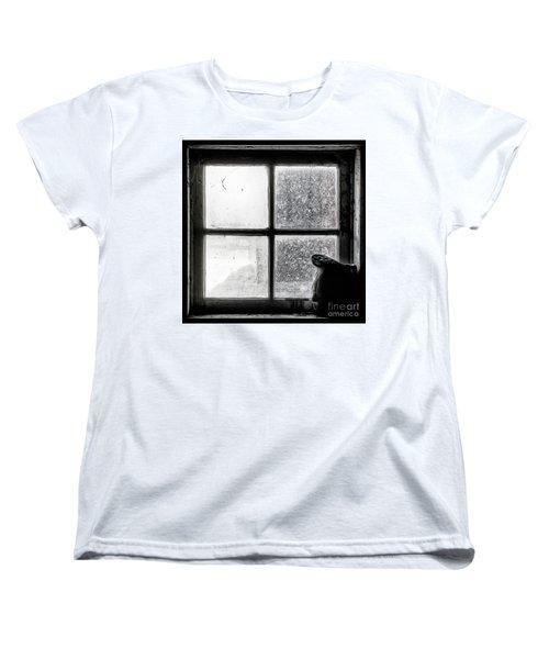 Women's T-Shirt (Standard Cut) featuring the photograph Pitcher In The Window by Brad Allen Fine Art