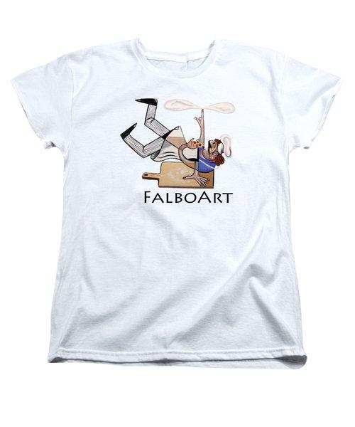 Pizza Break T-shirt Women's T-Shirt (Standard Cut) by Anthony Falbo