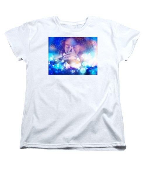 Women's T-Shirt (Standard Cut) featuring the digital art Pleasant Daydream by Gun Legler
