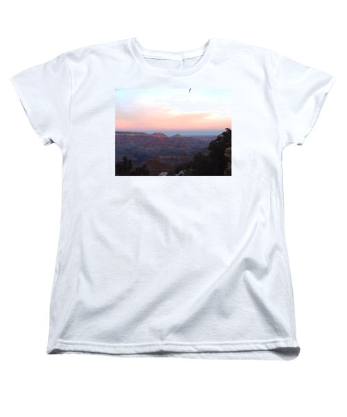 Pleasant Evening At The Canyon Women's T-Shirt (Standard Cut) by Adam Cornelison