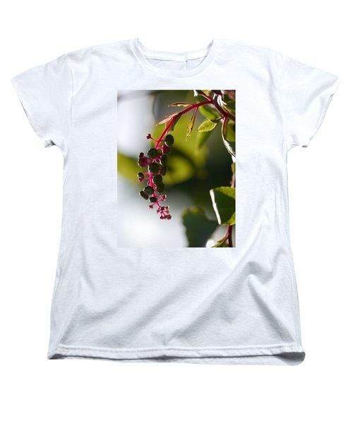 Poke Sallet Anyone? Women's T-Shirt (Standard Cut) by Jane Ford