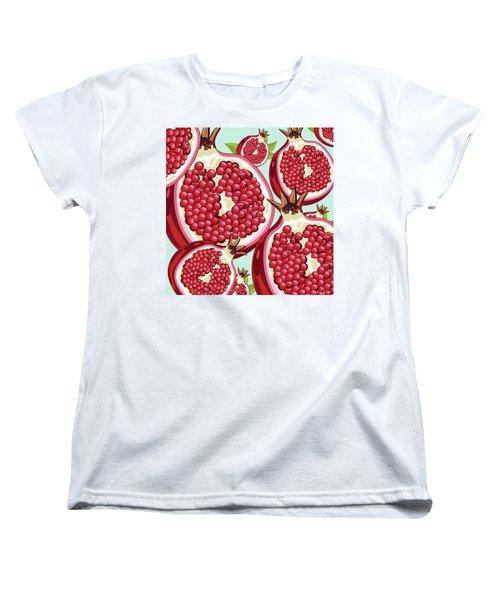 Pomegranate   Women's T-Shirt (Standard Cut) by Mark Ashkenazi