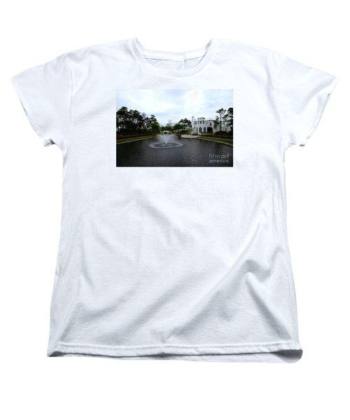 Pond At Alys Beach Women's T-Shirt (Standard Fit)