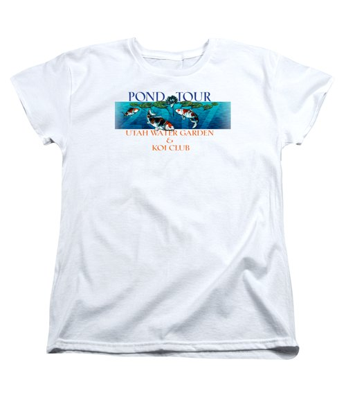 Pond Tour Women's T-Shirt (Standard Cut)