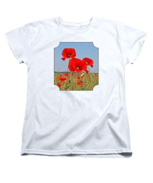 Poppy Fields 4 Women's T-Shirt (Standard Fit)