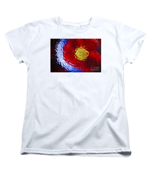 Women's T-Shirt (Standard Cut) featuring the photograph Poppy Impressions by Jeanette French