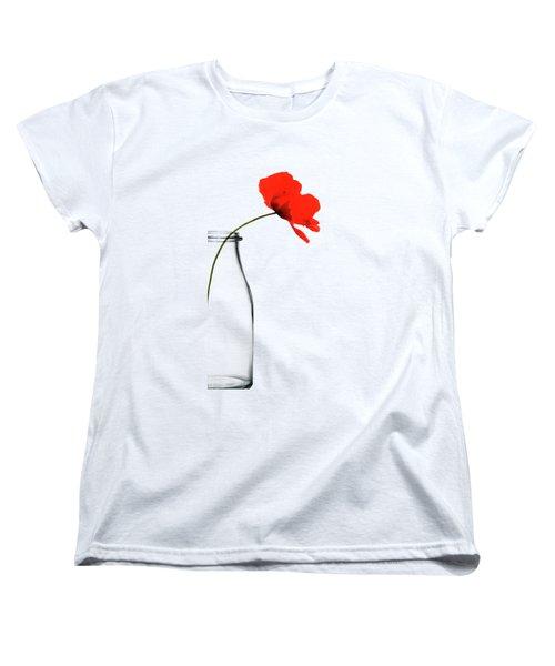 Poppy Red Women's T-Shirt (Standard Fit)