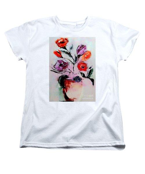 Pottery Plants Women's T-Shirt (Standard Cut) by Lisa Kaiser
