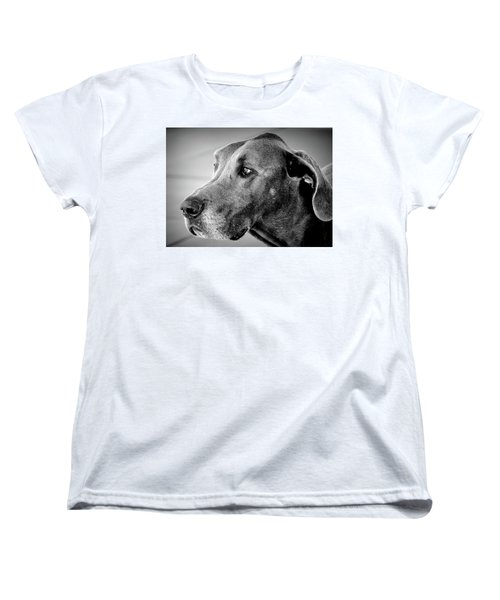 Women's T-Shirt (Standard Cut) featuring the photograph Powerful Majesty by Barbara Dudley
