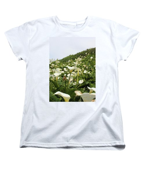 Women's T-Shirt (Standard Cut) featuring the photograph Preaching To The Choir by Marie Neder