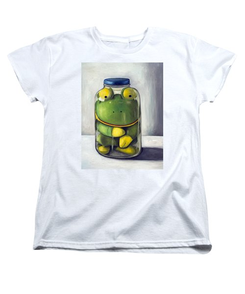 Preserving Childhood Upclose Women's T-Shirt (Standard Cut) by Leah Saulnier The Painting Maniac