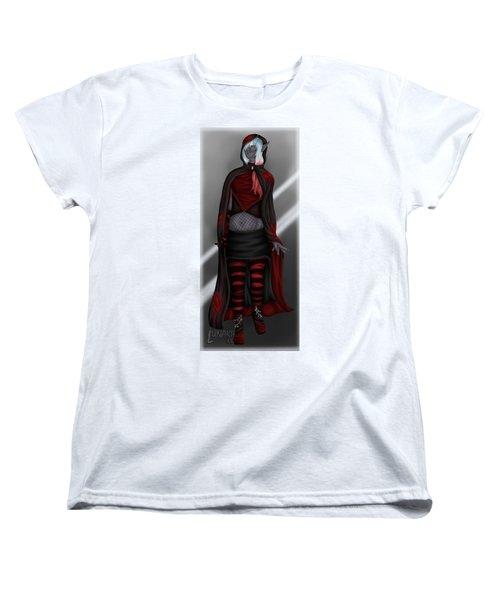 Pretentious Elf Women's T-Shirt (Standard Cut) by Amber Armstrong
