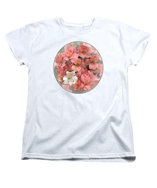 Prima Donna - Alstroemeria Women's T-Shirt (Standard Cut) by Gill Billington