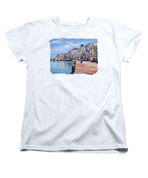Procida Italy Women's T-Shirt (Standard Cut) by Jennie Breeze