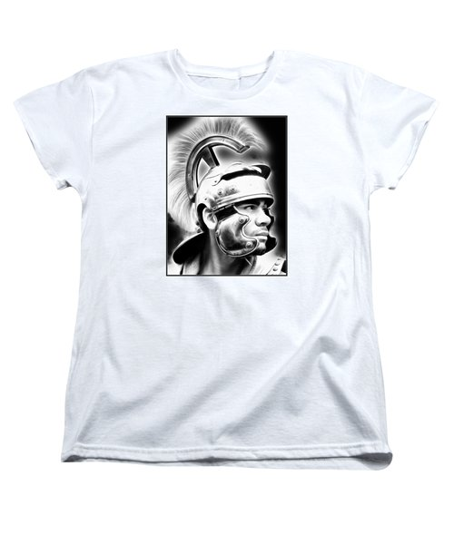 Profile Of A Trojan Hero Women's T-Shirt (Standard Cut)