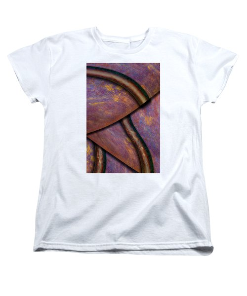 Women's T-Shirt (Standard Cut) featuring the photograph Psychedelic Pi by Paul Wear
