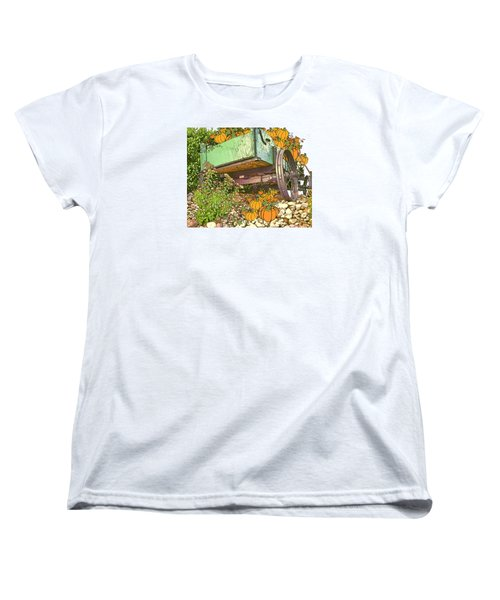 Pumpkin Harvest Women's T-Shirt (Standard Cut) by Larry Bishop