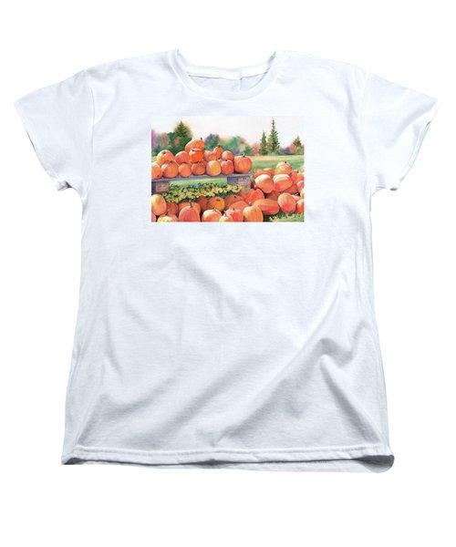 Pumpkins For Sale Women's T-Shirt (Standard Cut)