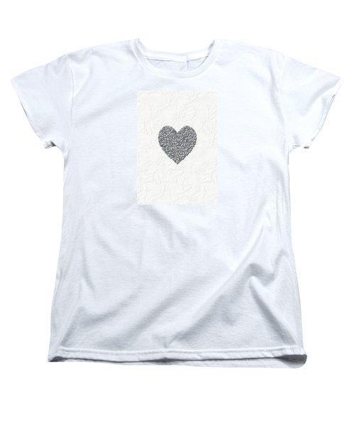 Women's T-Shirt (Standard Cut) featuring the digital art Pure Love by Linda Prewer