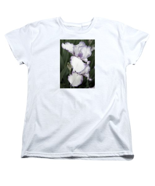 Women's T-Shirt (Standard Cut) featuring the photograph Purple Is Passion by Sherry Hallemeier