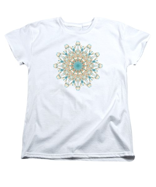 Pussy Willow Pattern Women's T-Shirt (Standard Fit)
