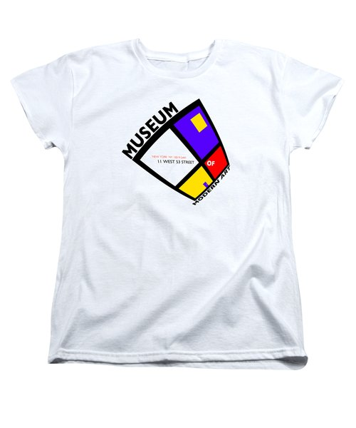 Putting On De Stijl Women's T-Shirt (Standard Cut) by Charles Stuart