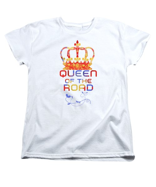 Queen Of The Road Women's T-Shirt (Standard Cut)