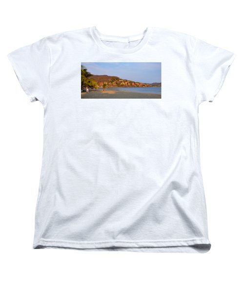 Women's T-Shirt (Standard Cut) featuring the photograph Quiet Afternoon by Jim Walls PhotoArtist