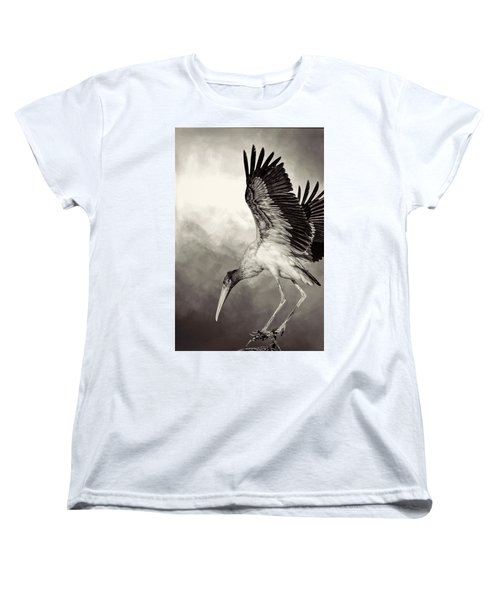Quiet Women's T-Shirt (Standard Cut) by Cyndy Doty