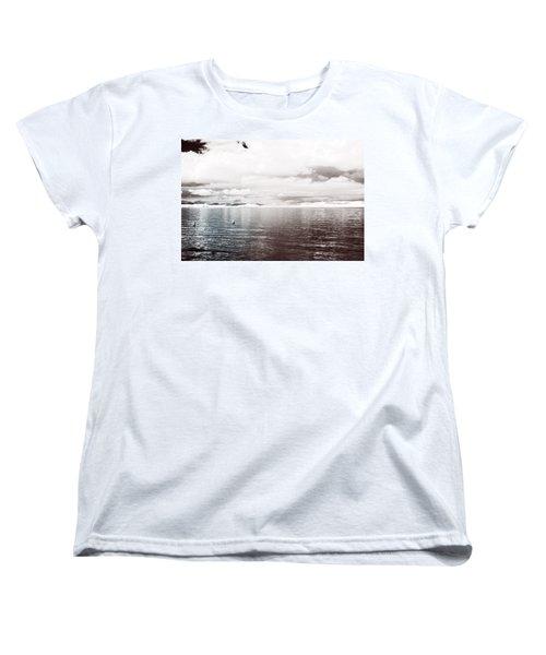 Quiet Waters Women's T-Shirt (Standard Cut) by Keith Elliott