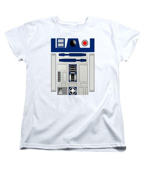 R2d2 Women's T-Shirt (Standard Cut) by Janis Marika