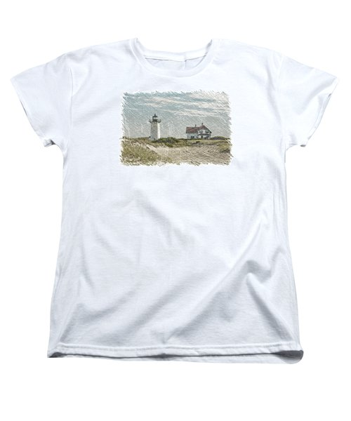 Race Point Lighthouse Women's T-Shirt (Standard Cut) by Paul Miller