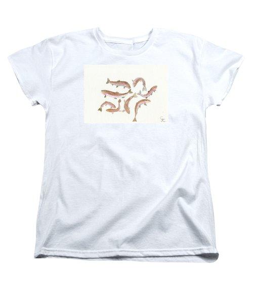 Rainbow Trout Women's T-Shirt (Standard Cut)