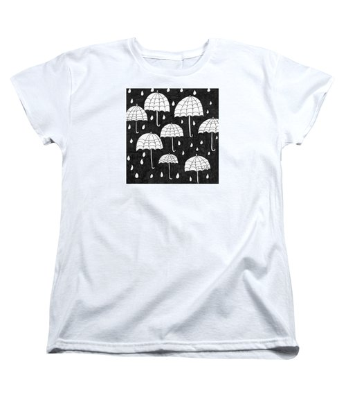 Raindrops Women's T-Shirt (Standard Cut)