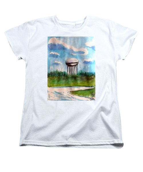 Raines Road Watertower Women's T-Shirt (Standard Cut) by Loretta Nash