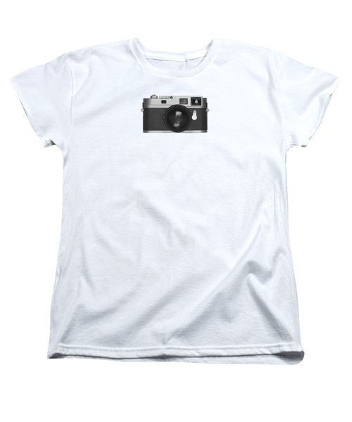 Women's T-Shirt (Standard Cut) featuring the photograph Rangefinder Camera by Setsiri Silapasuwanchai