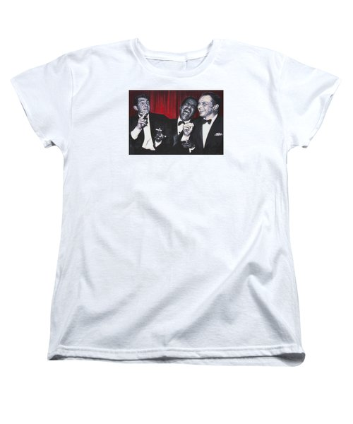 Rat Pack Women's T-Shirt (Standard Cut) by Luis Ludzska