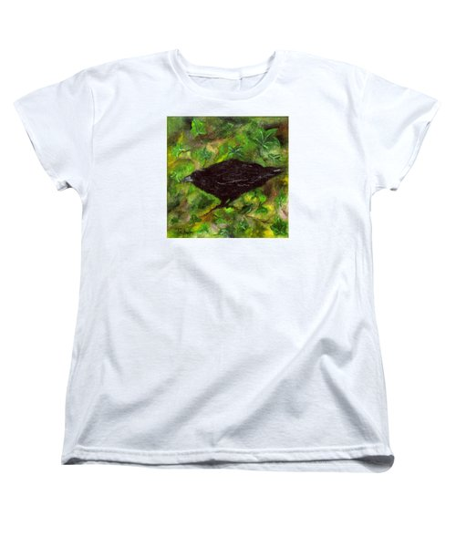 Raven In Ivy Women's T-Shirt (Standard Cut) by FT McKinstry