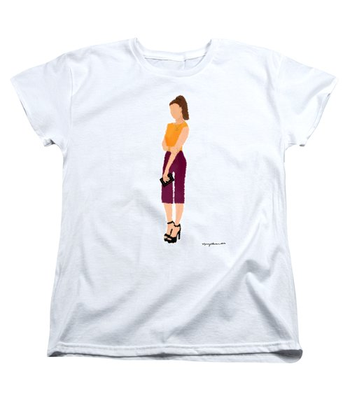 Women's T-Shirt (Standard Cut) featuring the  Rebecca by Nancy Levan