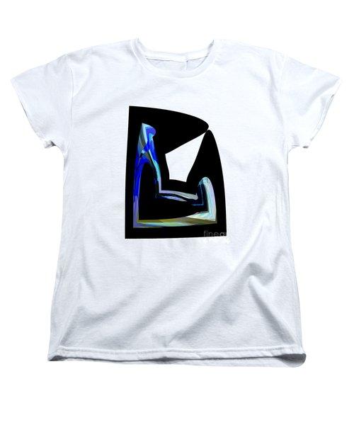 Recline Women's T-Shirt (Standard Cut) by Thibault Toussaint